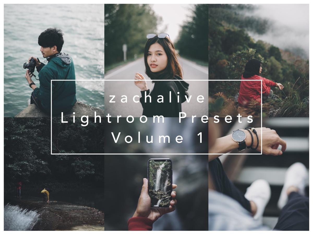 zachalive Lightroom Presets Volume 1